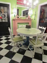 Painted Kitchen Tables And Chairs by 32 Best Painted Kitchen Table Ideas Images On Pinterest Painted
