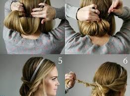 Frisuren Selber Machen Haarband by Frisur Haarband Neuefrisur
