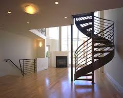 make a statement with spiral stairs home design
