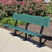 Park Bench Made From Recycled Plastic Recycled Plastic Park Benches