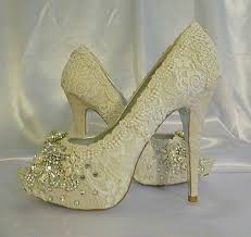 wedding shoes indonesia twinkle toes vintage lace wedding shoes 5 1 4 inch heel and peep