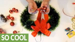 diy easy christmas wreaths youtube