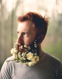 flowers for men trend men with flowers in their beards bored panda