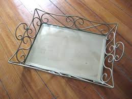 monogramed tray mirrored monogram tray project page