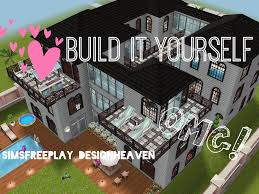Design House Plans Yourself Free by Sims Freeplay House Design Family Mansion Sims Pinterest