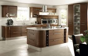 White Laminate Kitchen Cabinets Kitchen Round Stainless Steel Island Kitchen Hood With Brown