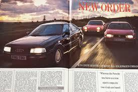 new order audi coupe quattro vs porsche 944 vs vw corrado g60