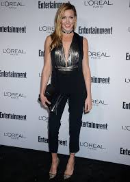 katie cassidy at entertainment weekly hosts 2016 pre emmy party
