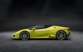 Lamborghini Huracan Models - lamborghini expands huracan family with new rear drive convertible