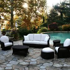 Resin Wicker Patio Dining Sets - desig for black wicker patio furniture ideas 20042
