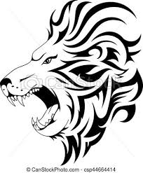lion tribal tattoo design lion tattoo design head tattoo