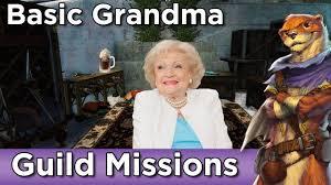 Guild Wars 2 Meme - guild missions basic grandma guild wars 2 youtube