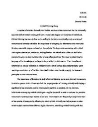 how to write a critical analysis essay example www gxart orgsample