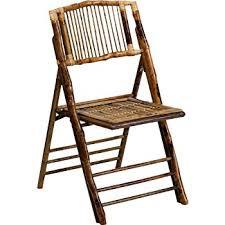 bamboo chair amazon com flash furniture 4 pk american chion bamboo folding