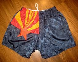 Az State Flag Vtg 80s Arizona State Flag Checkered Soccer Mens Large Nylon Umbro