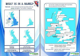 of the uk worksheets