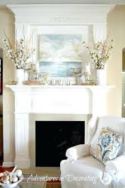 Living Room Mantel Decor Fireplace Display Ideas Full Size Of Living My Mantle Corner