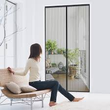 Magnetic Fly Screen For French Doors by Mycarbon Magnetic Screen Door Easy Installation Retractable