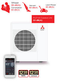 mitsubishi electric cooling and heating logo no more oil heat mitsubishi electric heating and cooling