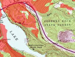 Michigan Elevation Map by Usgs Maps Your Know The Topographic Map But What About These