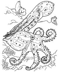 beautiful coral reef for sea fish colouring page colouring tube