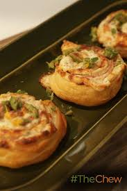 these bite size ham and cheese puff pastries pinwheels are a