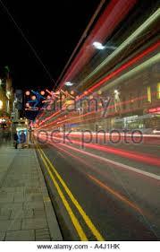 union street christmas lights aberdeen stock photo royalty free