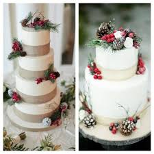 winter wedding cakes 25 stunning winter wedding cakes