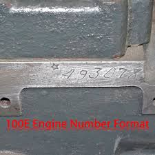 engine u0026 chassis numbers small ford spares