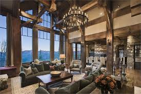 CountryRustic Country Living  Family Room Photos - Country family rooms