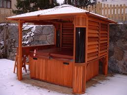 Back Garden Spa Ideas Hot Tub Ideas For Your Back Garden - Backyard spa designs