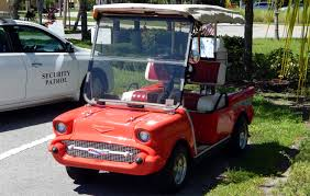 57 chevy bel air awarded u0027golf cart of the month u0027 for sept 2013