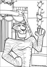 Madagascar 3 Coloring Pages Coloring Book