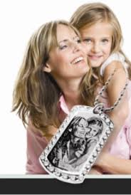 Photo Engraved Necklace Personalized Gifts Create Lasting Memories Things Engraved