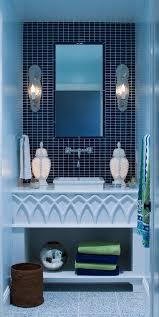 Blue Bathroom Decorating Ideas Kahtany - Blue bathroom design