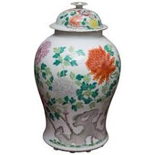 Antique Chinese Vases For Sale Large Scale Antique Chinese Porcelain Famille Verte Lidded Vases