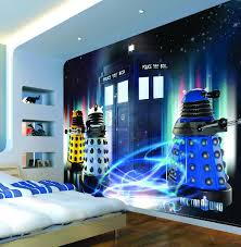 dr who bedroom tardis and dalek wall decal kid s room pinterest tardis and dalek