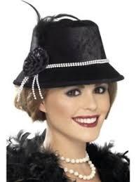 ladies flapper hat 1920s fancy dress accessory 20s great gatsby