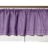 Purple Valances For Bedroom Amazon Com Purple Valances Tiers Swags U0026 Valances Home