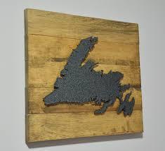 Newfoundland Map Newfoundland Map Sign U2013 Dufferin Firewood Shop