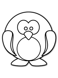 printable coloring pages for kids penguin cute baby colors club