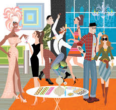 the cocktail party illustration highlights u2014 jason o u0027malley
