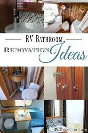 rv bathroom remodeling ideas 76 best rv obsession the best of images on pinterest rv
