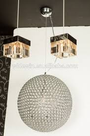Chandelier Dance Led Crystal Ball Pendant Lamp The Sitting Room Lamp Lights