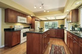 what color hardwood floors go with cherry cabinets 43 kitchens with extensive wood throughout home