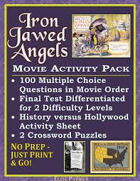 iron jawed angels worksheet and activity pack suffrage film