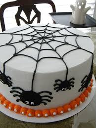 Halloween Cake Decorations Spider Cake For Trey Www Cakecentral Com Halloween Cake Decorating