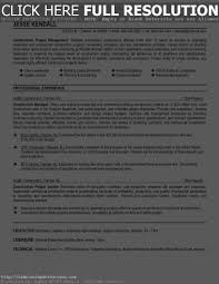 Construction Project Manager Resume Examples Construction Resume Examples Resume For Your Job Application