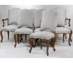 Louis 15th Chairs Eight Minton Spidell Louis Xv Style Dining Chairs 20th C N9enae