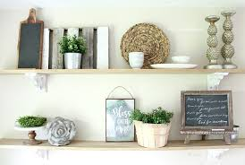 kitchenshelves com easy and inexpensive farmhouse kitchen shelves no saws required